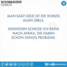 Schwarzer Humor Witze Sprüche #21 - Keine Spenden für Afrika