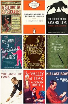 All the 9 Sherlock Holmes books. Just looking at all of them at once excites me. Thanks Conan Doyle for the amazing experience.