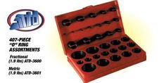 407-Piece SAE Universal O-Ring Assortment