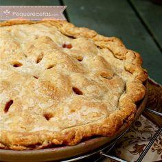 Tarta de frutas: tarta de melocotón