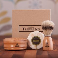 The Ultimate Mens Shaving Kit by Organic Trevarno, the perfect gift for Explore more unique gifts in our curated marketplace. Shaving Brush, Shaving Soap, Cocoa Butter, Shea Butter, Theobroma Cacao, Male Grooming, Unique Gifts, Kit, Pure Products