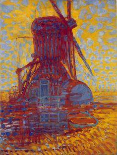 Piet Mondrian - Mill Sunlight