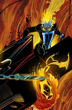 All New Ghost Rider by JoeAzpeytia *