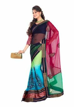 Fabdeal Indian Designer Pure Bemberg Blue Embroidered Saree Fabdeal, http://www.amazon.de/dp/B00INWPVI8/ref=cm_sw_r_pi_dp_Qv8otb01NEZ4Z