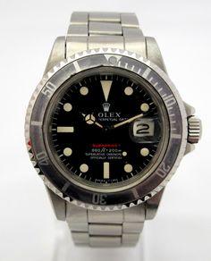 Rolex Submariner Vintage Date , ref 1680 Red , Mark 4 , from 1973 , serial 338xxxx , amazing Dial & Case , original bracelet nice bezel , 9315/380, Le Joaillier