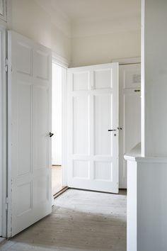 nice original doors all painted white | Fantastic Frank
