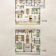 『36坪の間取り』 ・ キッチン作業スペースから洗面脱衣室とパントリーに行き来できる間取り。 LDKと畳スペースが一体。 ・ 子供の勉強は畳スペースか2階フリースペースで。 ・ #間取り #間取り図 #間取り集 #間取り力 #間取り相談 #間取り図好き #間取り図大好き #間取り考え中 #マイホーム計画#マイホーム計画三重 #マイホーム計画開始 #三重の設計事務所#三重の住宅 #三重の家 #三重の間取り #三重の建築家 #4LDKの間取り #キッチン作業スペース#パントリーのある間取り #畳スペースのある間取り