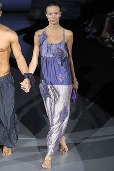Spring 2009 Ready-to-Wear  Emporio Armani  Runway  Phenelope