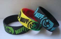 NEFF baller band, silicone bracelet SMILING FACE (3) COLORS☆FREE U.S.A.SHIPPING☆ Monitor, Silicone Bracelets, Smile Face, Fashion Outfits, Band, Leather, Shoes, Jewelry, Colors