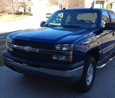 Make:  Chevrolet Model:  Silverado 1500 Year:  2004 Body Style:  Extended Cab Pickup Exterior Color: Blue Interior Color: Gray Doors: Four Door Vehicle Condition: Very Good   Phone:  318-470-4480   For More Info Visit: http://UnitedCarExchange.com/a1/2004-Chevrolet-Silverado%201500-314480996192