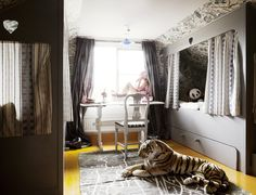 How to Design a Kids Room Your Children Won't Outgrow: Opting for a grown-up color palette is one key to designing an adaptable room. Although paint can be updated with minimal cost and effort, select a palette that won't say nursery once your kids are in grade school and beyond.