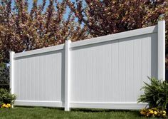 "Upgrade your yard with the Chesterfield privacy vinyl fence with CertaGrain texture from Bufftech. The Chesterfield with CertaGrain vinyl fence has all the beauty and curb appeal of a wood fence with the durability and low maintenance features of vinyl fence. Featuring Bufftech's 7"" wide pickets and steel reinforced bottom rails for added strength and durability, the Cheasterfield with CertaGrain is the best option for privacy fencing.  All Bufftech fences have a two week ship time and a ..."