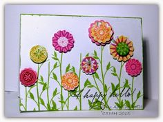 Welcome to My Creative Space with Adeline Brill: February Stamp of the Month Blog Hop