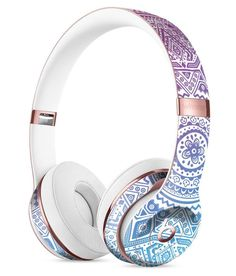 Vibrant Purple Toned Sproutaneous Full-Body Skin Kit for the Beats by Dre Solo 3 Wireless Headphones Cute Headphones, Sports Headphones, Bluetooth Headphones, Over Ear Headphones, Beats By Dre, Iphone Accessories, Hair Accessories, Apple Products, Audiophile