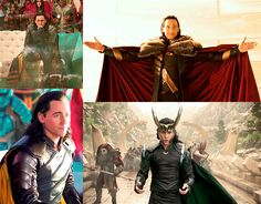 The new Thor movie STARRING Loki!