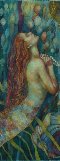 Mermaids Among Us / art photography & paintings of sea sirens & water maidens -