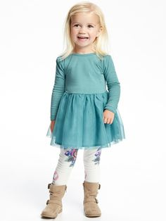 Baby Girl Fashion Cl - February 08 2019 at Toddler Girl Style, Toddler Girl Outfits, Toddler Fashion, Toddler Dress, Kids Outfits, Toddler Girls, Toddler Hair, Trendy Outfits, Dress Outfits