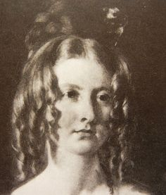 1830s - Early Victorian hairstyle