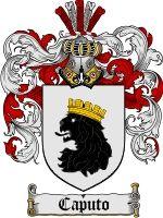 Caputo Family Crest / Caputo Coat of Arms  The Italian surname of CAPUTO has the associated coat of arms recorded in Rietstaps Armorial Gene...