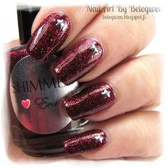 Nail Art by Belegwen: Shimmer Polish: Eva