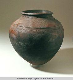 Nupe clay pot, Nigeria