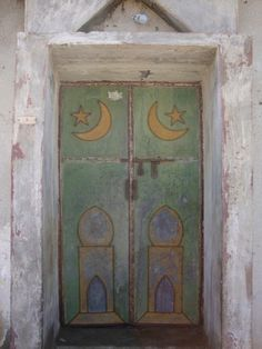 Islamic Omani door