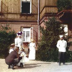 Nicholas 2, Alexandra Frodorovna with Olga and Tatiana Olga and Tatiana…