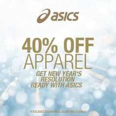 40% Off All Apparel