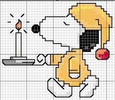 Snoopy Cross Stitch Free Pattern