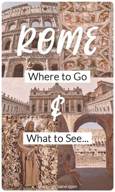 Must see places during your short stay in Rome.