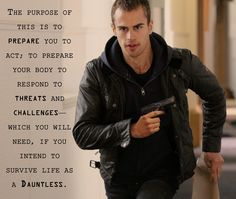 Theo James - Divergent; ugh cannot wait for this!!! This is what I am going to tell my self when I work out! just for fun!