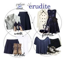 """""""Erudite"""" by hp4ever15 ❤ liked on Polyvore"""