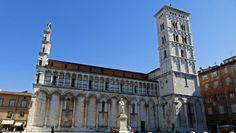 Iglesia de San Miguel en Foro, Lucca, Toscana, Italia