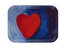 Tray Love 27 x 20 cm Designer Carina Flodin made of nordic birch veener. Dishwasher safe.