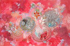 "Saatchi Art Artist: Lia Porto; Acrylic 2014 Painting ""Si nieva"""