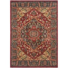 Anchor your aesthetic in effortless style with this rug, perfect in the dining room or den.