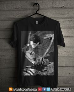 #AttackOnTitan #ShingekiNoKyojin #Eren #Rivaille #Mikasa All designs are printed using Direct to Garment Printer, we do not use tranfers. Direct-to-garment (DTG), also known as inkjet-to-garment printing, involves using a printer to print ink directly onto a cotton garment and curing the ink with a heat press. We are currently uses Fruit of The Loom, A...