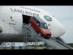 Found the solution.put Land Rover in a plane and let the plane do the work that my Land Rover can't do .Oh look Land Rover.the plane can open its doors.watch and learn. Suv Range Rover, Range Rover Sport 2014, The New Range Rover, Range Rovers, Land Rover Off Road, Range Rover Supercharged, Fort Smith, Car Videos, Classic Cars
