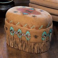 ottomans with fringes - Yahoo Image Search Results