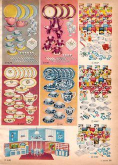 1957 Child's Tea Sets