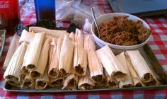 Tamales... a christmas tradition