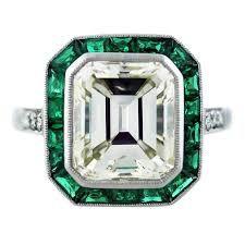 Emerald Cut Engagement, Platinum Engagement Rings, Deco Engagement Ring, Platinum Ring, Wedding Engagement, Wedding Rings, Engagement Ideas, Emerald Cut Diamonds, Diamond Cuts