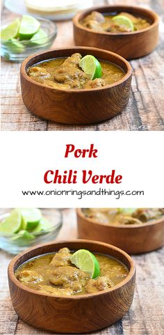Pork Chili Verde is a spicy stew made with pork ribs cooked in a tomatillo sauce until fork-tender and big in flavor
