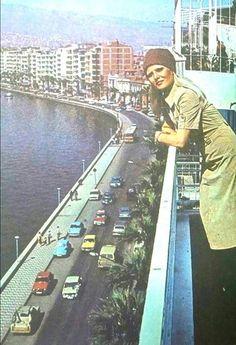 İzmir 1970'li yılları. Gönül Yazar.