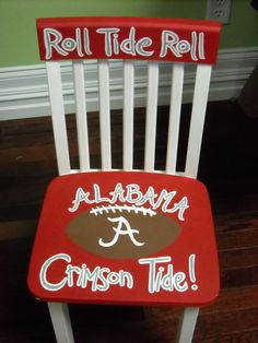 Alabama tide Football Chair