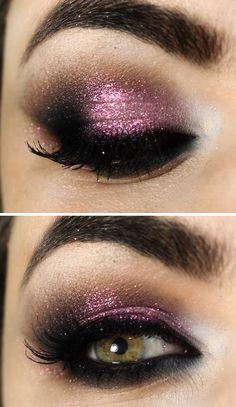 Gorgeous Glitter Smokey Eyes # Makeup / Best LoLus Makeup Fashion