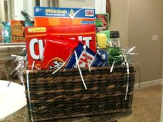 Put together a gift basket full of their favorite things