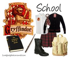 School Days by sad-samantha on Polyvore featuring Glamorous, Topshop, Steve Madden and Friis & Company
