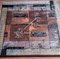 Weaving Dreams by Viviana Ferro: A la hora del café