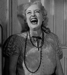 Bette Davis as Baby Jane. One of my absolute favourite films.